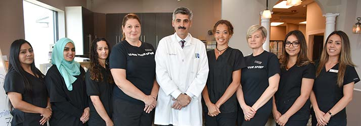 Chiropractor Bridgeview IL Dr. Rashid Abu-Shanab And Chiropractic Team